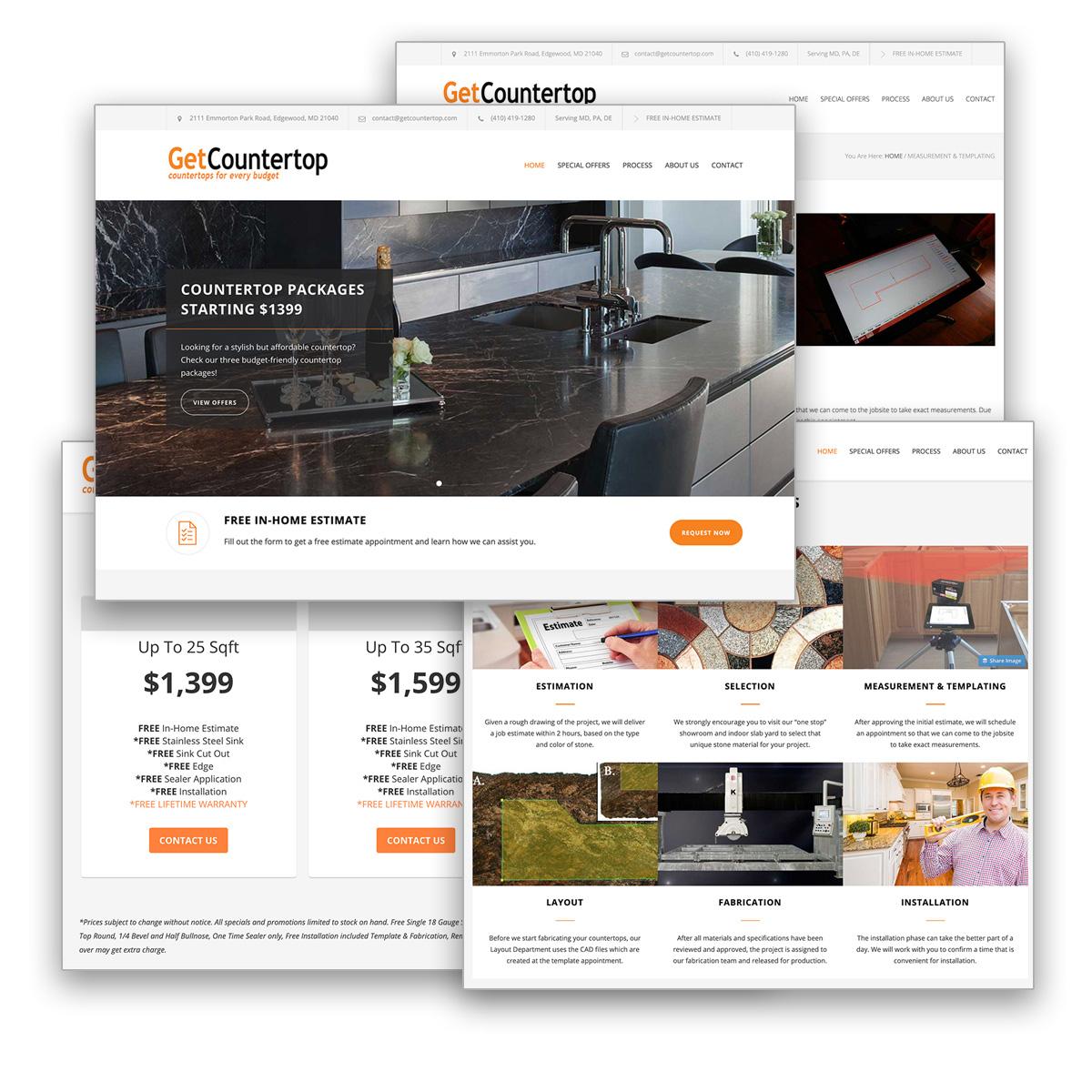 getcountertop website s