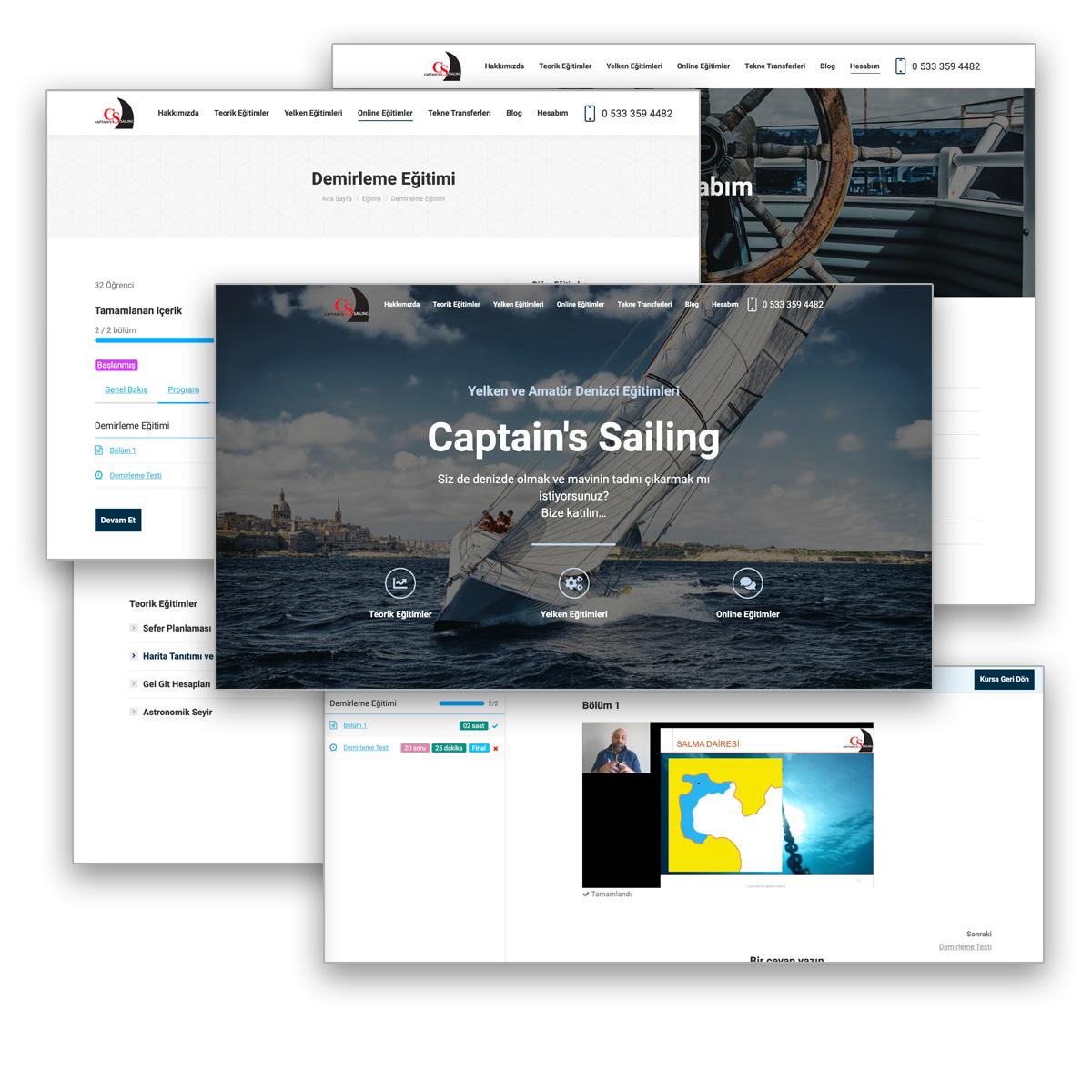 captainsailing website s