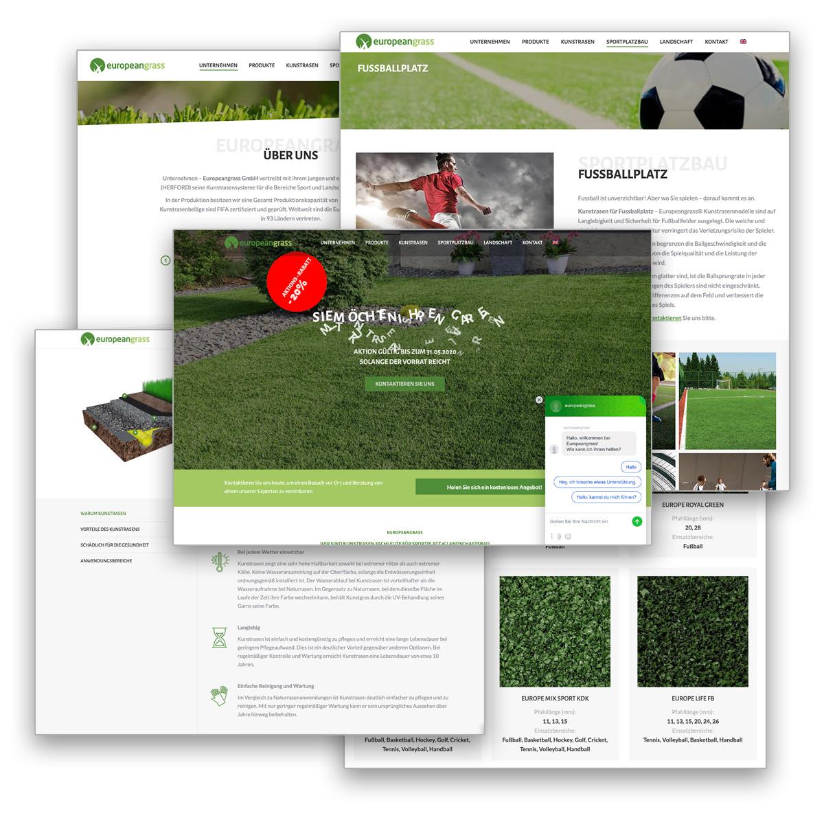 europeangrass website s