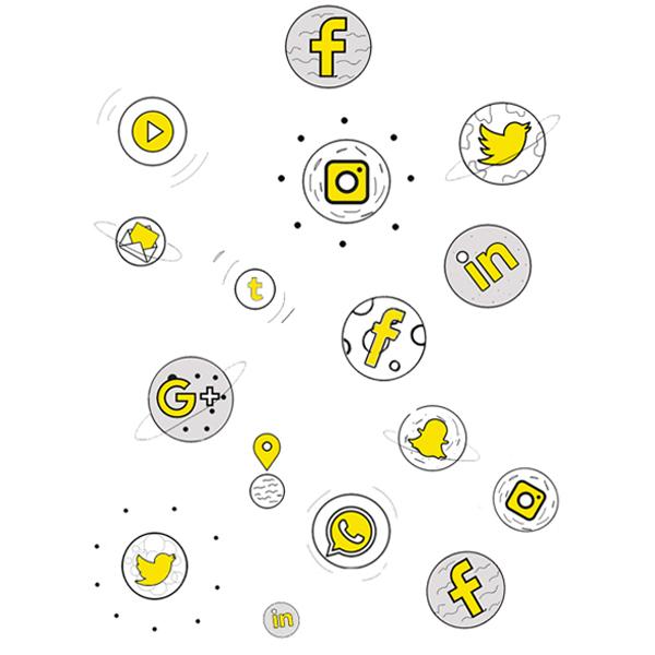 social marketing section banner